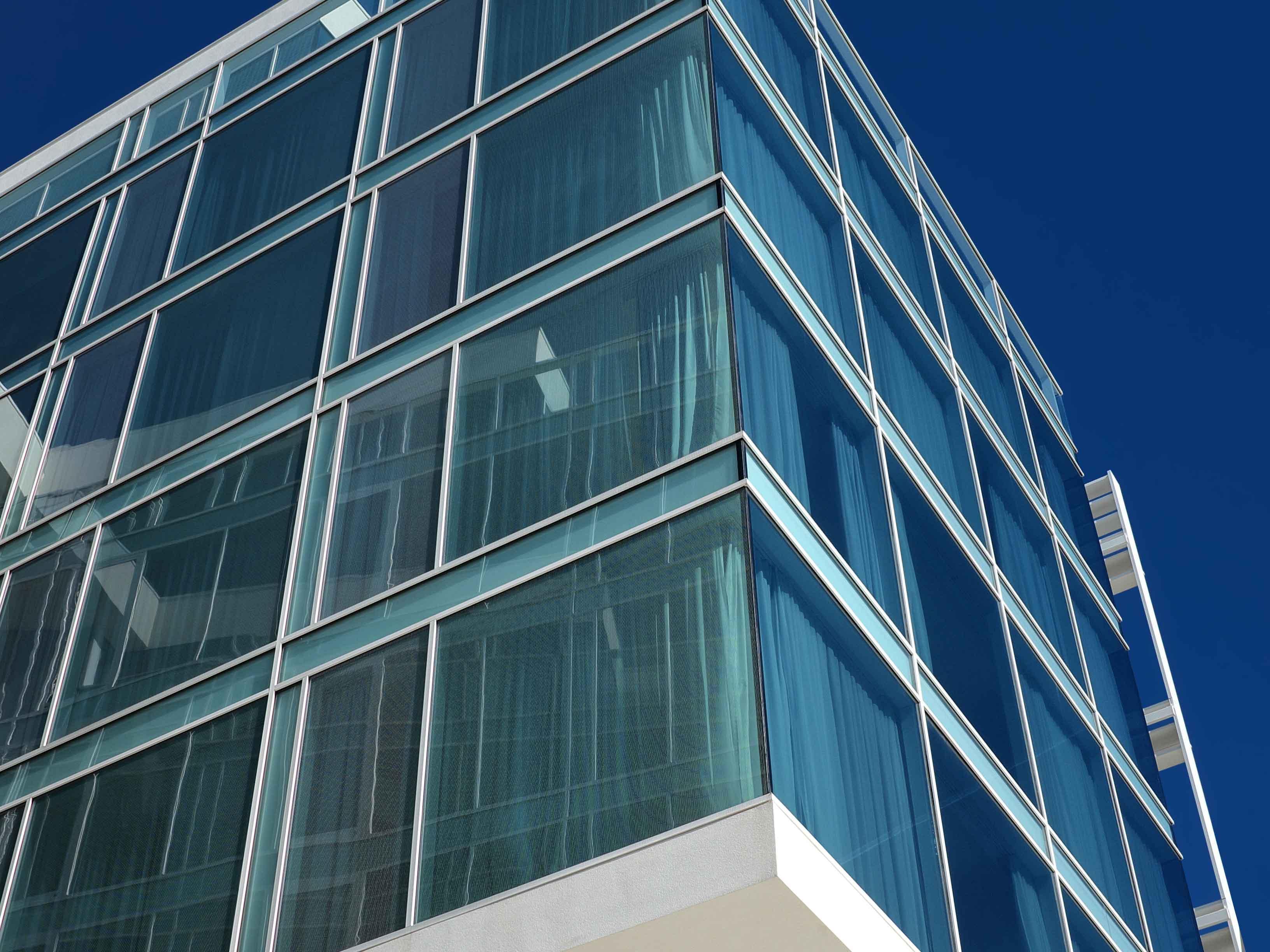 Glass windows selective